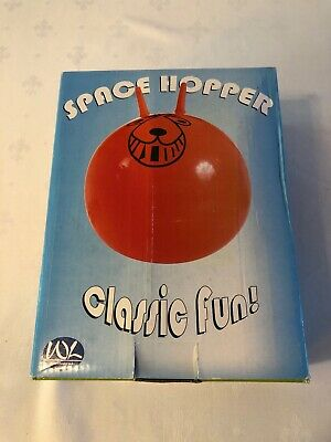 Retro Exercise Play Indoor Outdoor SPACE HOPPER 65cm New Sealed • 8.50£