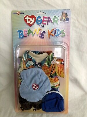 Ty Gear For Beanie Kids School Days Hat Shoes Bag Shirts Clothes New Vintage • 12.99£