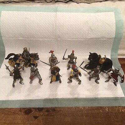 Schleich Knights And Horses Bundle Some Rare And Retired • 7.99£