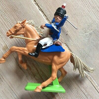 BRITAINS DEETAIL MOUNTED NAPOLEONIC BRITISH CAVALRY 10th HUSSAR 7949 • 21.99£