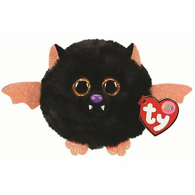 Ty Beanie Babies 42515 Puffies Echo The Black Bat Halloween • 5.95£