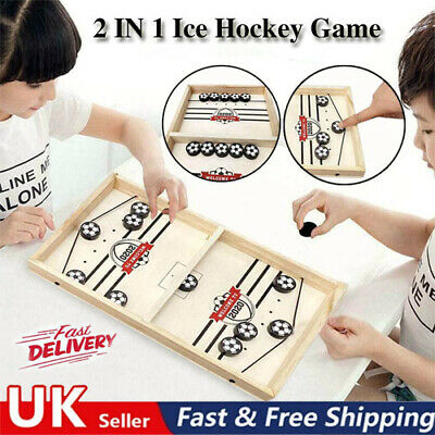 Family Games Table Hockey Game Catapult Chess Parent-child Interactive Toys UK ! • 12.99£