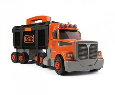 Smoby Black & Decker Truck & Crane Construction Toy Tool Kit Role Play • 36.95£
