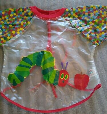The Very Hungry Caterpillar Eric Carle Wipe Down Apron Toddler  • 6£