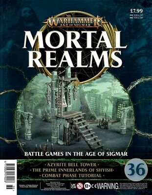 Warhammer Age Of Sigmar Mortal Realms 36 With Azyrite Bell Tower • 12.95£