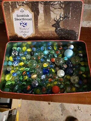 Job Lot Of Old Marbles • 4.99£