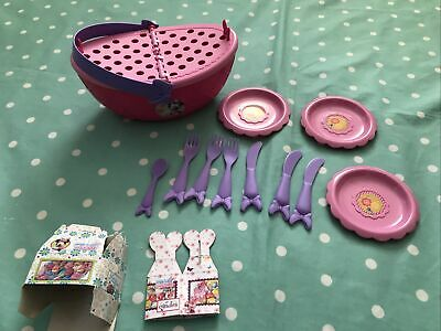Minnie Mouse Picnic Basket Toy - Pretend Teatime Play • 2£