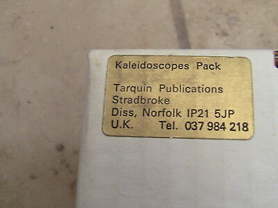 The Kaleidoscope Pack 1986 Educational Collection Of Kaleidoscopes • 60£