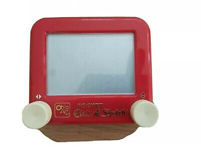 Cute Pocket Etch A Sketch Retro Vintage Toy Ohio Art • 19.99£