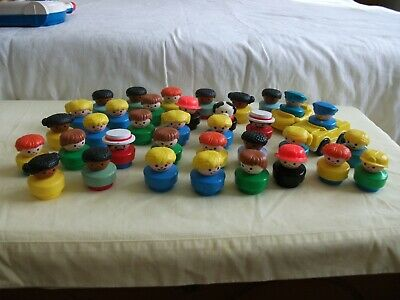 Large Bundle Of Vintage Fisher Price Chunky Little People  • 5.50£