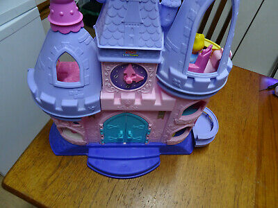 Fisher Price Little People Disney Princess Musical Dancing Palace & Characters • 32£