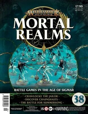 Warhammer Age Of Sigmar Mortal Realms 38 With Crawlocke The Jailor & Chainghasts • 12.95£