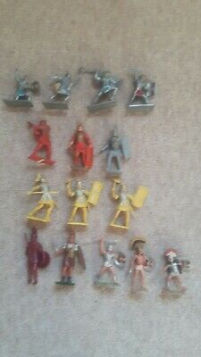 Job Lot Of Vintage Roman Soldiers By Cherilea, Britains (herald), Crescent Etc. • 4.99£