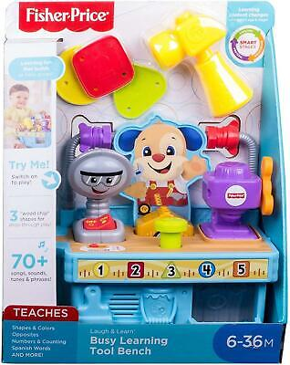 Fisher Price Busy Learning Tool Bench • 14.49£