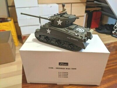 Britains 17496c World War 2 Sherman Tank (US) - 3076549S • 69£