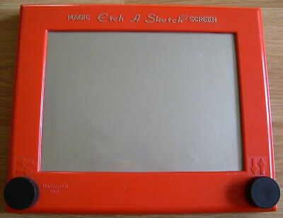 Magic Etch A Sketch Vintage Toy Rare Version With Black Knobs • 19.99£
