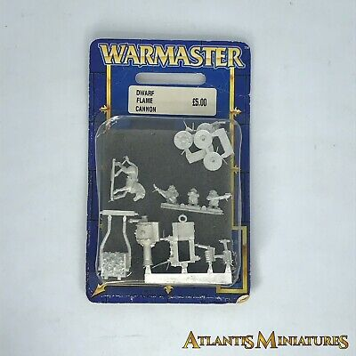 Dwarf Flame Cannon Blister - OOP - Warmaster Warhammer C1631 • 39.99£