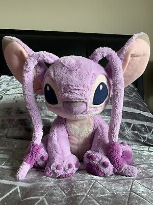 Lilo And Stitch Angel Plush Toy Teddy Disney Genuine From Disneyland Paris • 5£
