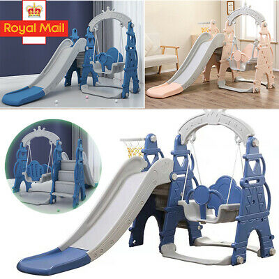 Toddler Climber Slide Play Swing Set Indoor/Outdoor Kids Playground Boy Girl Toy • 94.75£