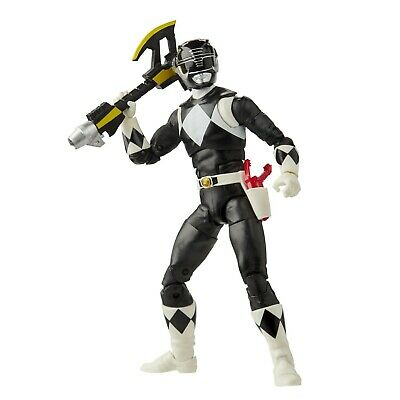 Power Rangers Lightning Collection Wave 6 - Mighty Morphin Black Ranger • 21.99£