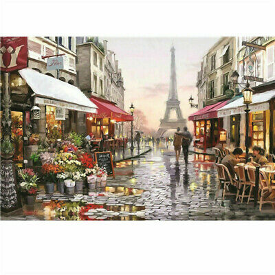 1000 Piece Paris Street Jigsaw Puzzle Puzzles For Adults Toys Learning Education • 7.89£