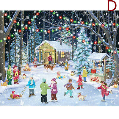 1000 Piece Jigsaw Puzzle Children-Adult Christmas Snowman Puzzles Xmas Cities • 8.99£
