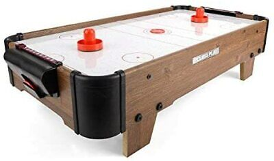 Powerplay 28  Air Hockey Game Table Top Sports Game All Ages Family Fun • 30.99£