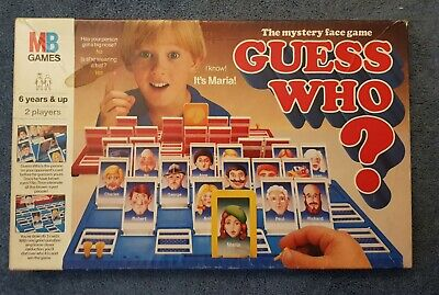 MB Milton Bradley Guess Who Vintage Board Game 1987 Edition  • 16£