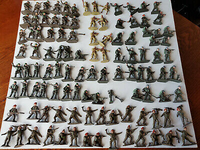 Lone Star Toy Soldiers WWII Red Beret Paratrooper Foreign Legion Joblot 100+ • 17£