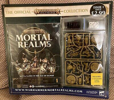Games Workshop - Warhammer Age Of Sigmar - Mortal Realms Magazine Issue 1 - New • 10.95£