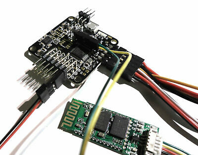 Naze32 Flight Controller Low Profile Soldered Right Angle Pins With Bluetooth • 26.99£