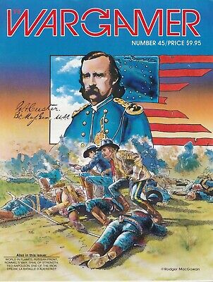 Wargamer Magazine Issue 45. Good Condition, Includes Board Game 'Custer's Luck' • 4.99£