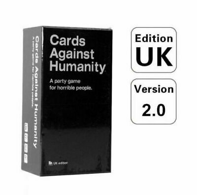 Cards Against Humanity UK V2.0 Latest Edition New Cards UK • 12.95£