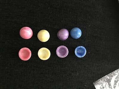 Mini Rubber Poppers For Party Bags X 8 Various Colours • 2£