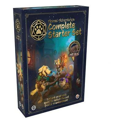 Animal Adventures RPG Starter Set Board Game - Steamforged Games [New & Sealed] • 31.99£