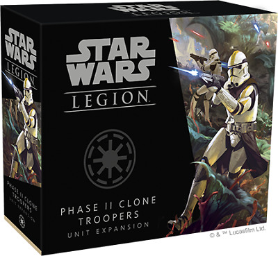 FFG Star Wars: Legion Phase II Clone Troopers Unit Expansion (SWL61) • 27.19£