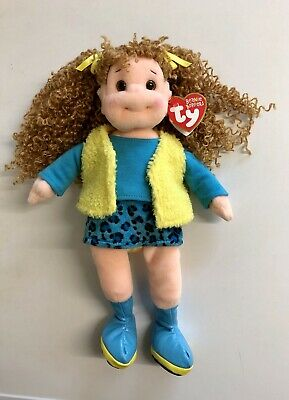 Pretty Patti Ty Beanie Boppers Doll New With Tags • 10.99£