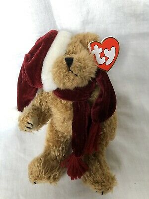 Jangle The Bear Ty Attic Treasures Hat Scarf Articulated  Legs  New With Tags • 13.99£