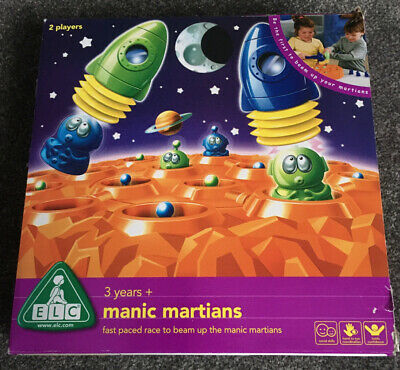 ELC Manic Martians Game 3years + • 5£