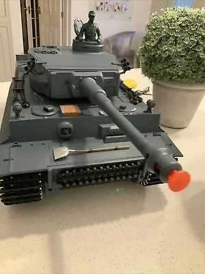 Henglong 1/16 Scale German Tiger Remote Control Battle Tank (3818-1) • 125£