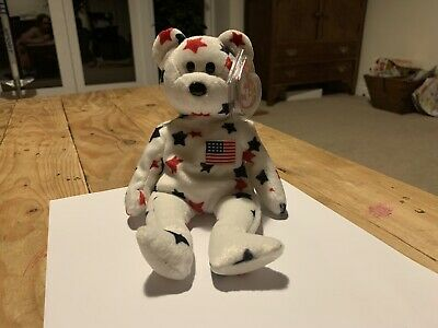 Ty Retired Beanie Baby Glory VGC With Tags ©1998 • 2.70£