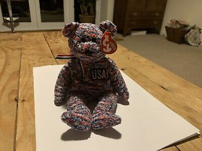 Ty Retired Beanie Baby USA VGC With Tags ©2000 • 1.20£