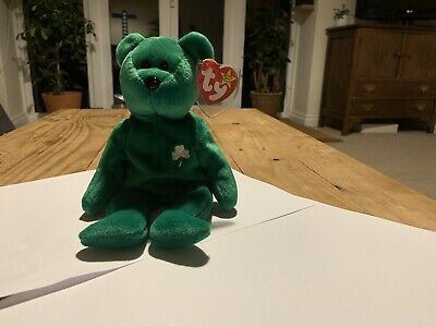 Ty Retired Beanie Baby Erin VGC With Tags ©1997 • 1.20£