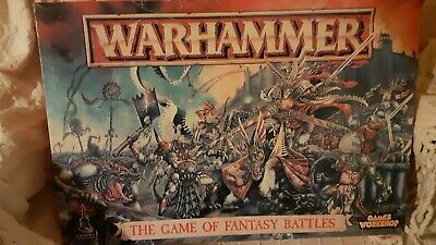 Warhammer : The Game Of Fantasy Battles : 4th Edition : Incomplete:  Used : 1992 • 12£