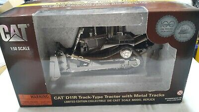 Norscot CAT D11R Track Type Tractor 55148 1:50 Scale SILVER LIMITED EDITION  • 70£