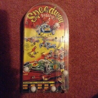 Bagatelle Vintage Toy Pinball Game Speedway , Good Condition • 3.10£
