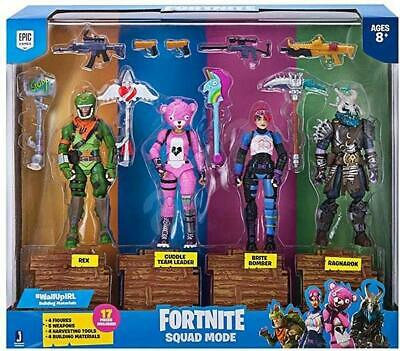 Fortnite Squad Mode Action Figures 4 Pack • 24.49£