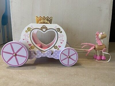 Early Learning Centre Rosebud Fantasy Princess Carriage • 4.90£