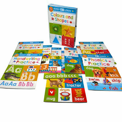 Wipe Clean Kids Learning Educational Activity Books Alphabets Numbers Pre School • 18.99£