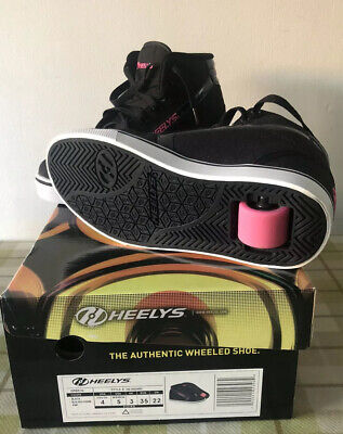 Heelys Gr8r Hi-Top Trainers - Single Wheel - With Box. Excellent Condition. • 25£